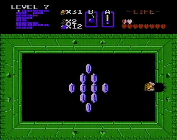 Zelda coin room